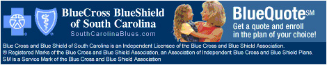 An Authorized Agent For BlueCross BlueShield of South Carolina